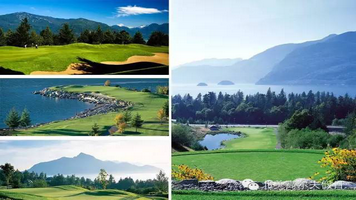 加拿大惠斯勒四天三晚四场球高尔夫之旅(Whistler Golf Tour)