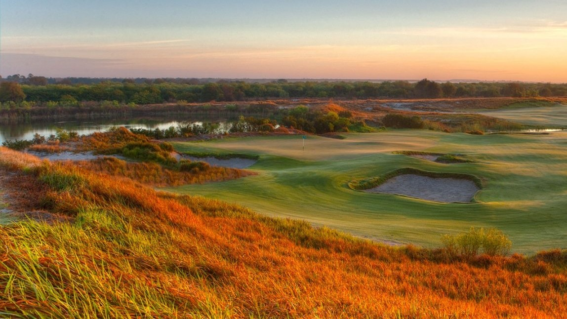 溪颂红场 Streamsong Red Golf Course